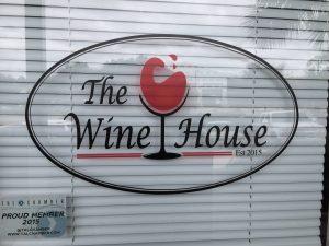 Custom vinyl window logo cling