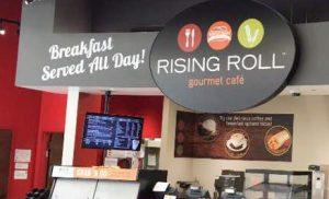 custom indoor restaurant signage